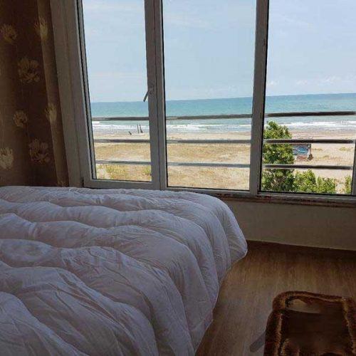 اجاره روزانه سویت آپارتمان با دید کامل به دریا بندرانزلی